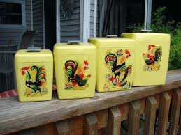 yellow kitchen canister set yellow kitchen canisters sets vintage yellow 3 canister set