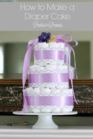 diaper cake video tutorial parties for pennies