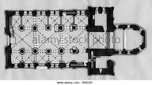 Catholic Church Floor Plans Floor Plans Black And White Stock Photos U0026 Images Alamy