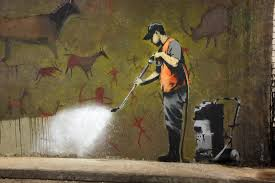 contemporary wallpaper wall murals murals wallpaper cave painting banksy wall mural