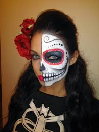 my simple and easy sugar scull special effects makeup makeup