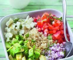 comment cuisiner le quinoa recettes salade de quinoa à la feta recette de salade de quinoa à la feta