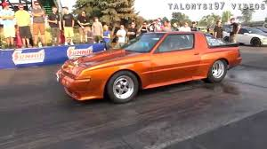 chrysler conquest early performance conquest racecar u002714 dsm shootout youtube