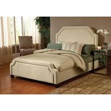 hillsdale trieste upholstered low profile bed buckwheat hayneedle