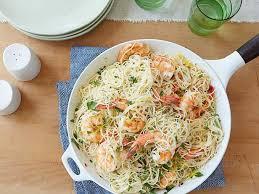 cuisine pasta s shrimp sci with hair pasta recipe the neelys