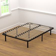 Twin Wooden Bed by Amazon Com Handy Living Wood Slat Bed Frame Full Kitchen U0026 Dining
