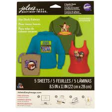 jolee s boutique iron on transfer paper for colored fabric