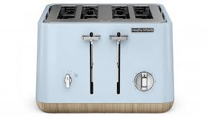 Morphy Richards Accents Toaster Review Morphy Richards Scandi 4 Slice Toaster Matte Azure Toasters