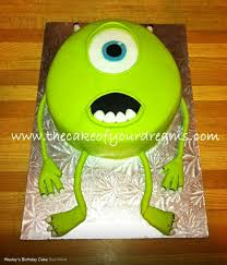 monsters inc and monsters cakes and confections designer