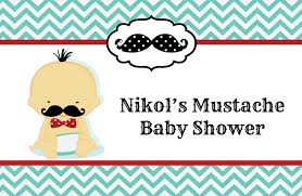 little man mustache baby shower place mats little man mustache