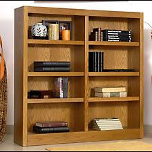 Double Bookcase Concepts In Wood Always Free Shipping At Officefurniture Com