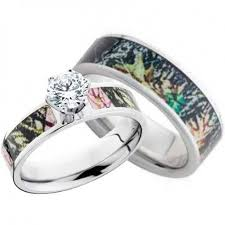 wedding rings for him and titanium camo wedding rings sets wedding rings sets for