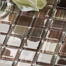 Glass Tiles Bathroom Wholesale Crystal Glass Tile Backsplash Kitchen Ideas Hand Painted