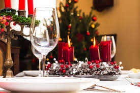 red and silver christmas table settings how to properly set your dinner table for a holiday party hastac