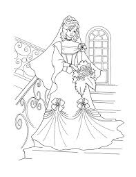 42 wedding bride coloring pages images
