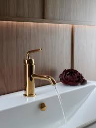 bathroom kohler modern faucet gold modern new 2017 design ideas
