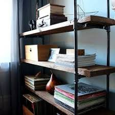 industrial pipe shelving unit thegoldensycamore com industrial