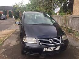 vw sharan 2007 black with pco in southall london gumtree