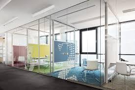 glass office partition rg wall by bene design johannes scherr