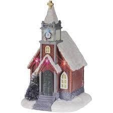 festive led church ornament available at this is it stores uk