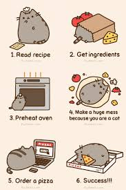 Pusheen The Cat Meme - how to make a pizza pusheen know your meme