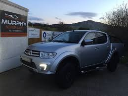 mitsubishi barbarian 2015 mitsubishi l200 barbarian black edn model top spec finance