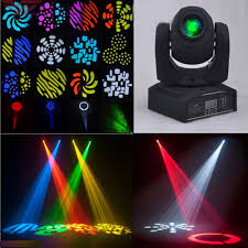 Led Projector Christmas Lights by 30w Led Moving Head Effect Lights 8 Pattern Dmx512 Stage Lighting