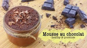 hervé cuisine mousse au chocolat mousse au chocolat healthy protéinée recette healthy facile