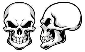skulls stock vector illustration of creepy antique 35934299