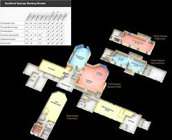 sandford spings conferencing events and wedding floor plan