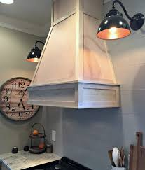 Kitchen Range Hood Design Ideas by A Diy Ish Wood Vent Hood From Thrifty Decor