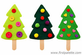 Decorate Christmas Tree On Paper by Craft Stick Christmas Tree Craft Kids U0027 Crafts Firstpalette Com