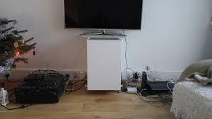 ikea metod cabinets into av unit ikea hackers ikea hackers