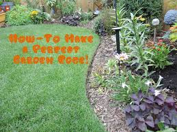 How To Start A Flower Garden In Your Backyard How To Give Your Lawn The Perfect Edge Youtube