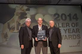 volvo truck dealer greensboro nc mack names bergey u0027s truck centers 2014 ne dealer of the year