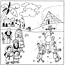 10 plagues of egypt colouring pages coloring 10 plagues of egypt