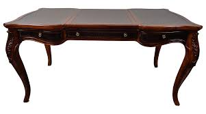 Desk Game by Hekman Chippendale Leather Top Desk Game Table Chairish