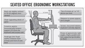 ergonomic office desk setup gallery for gt ergonomic workstation