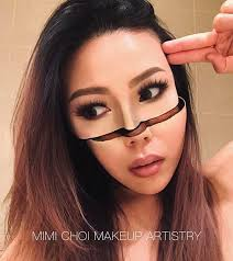 Make Up gives up teaching to create optical illusions with makeup and
