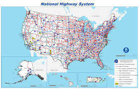 United States Travel Map by Highway Travel By Number World Book
