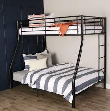 metal twin over full bunk beds ladder kids teens dorm