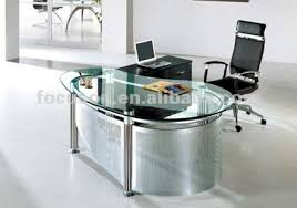 glass top office desk fks hd ed022 modern glass top office desk buy glass top executive