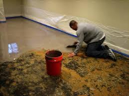 how to clean carpet glue concrete floors carpet vidalondon