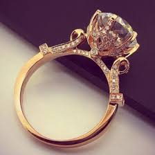 pretty gold rings images Jewels ring gold engagement ring jewelry diamonds vintage jpg