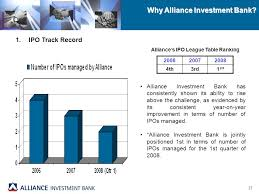 Investment Banking League Tables Presentation To Malaysian Oil U0026 Gas Services Council Members