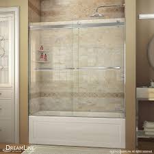 bathtubs trendy bathtub door installation 58 dreamline enigma x