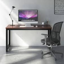 Large Office Desk Tribesigns Computer Desk 55 Large Office Desk Computer Table