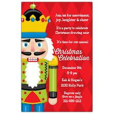 christmas invitations nutcracker on harlequin christmas invitations paperstyle