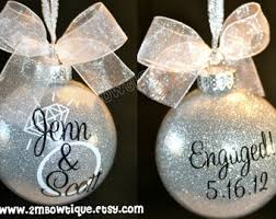 great engagement gift idea ornament for