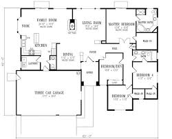 four bedroom floor plans 4 bedroom house plans withal 3d bungalow house plans 4 bedroom 4